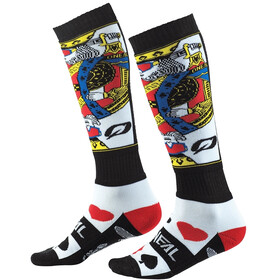 O'Neal Pro MX Chaussettes, white/black/red
